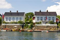 Sights of summer in scenic Lyngør. UNESCO has honored it as a World Heritage site.
