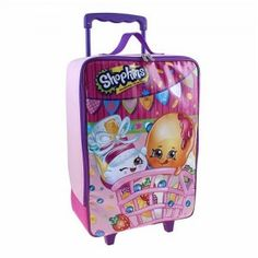 Shopkins 16-inch Wheeled Luggage Case only $12.80 (Reg. $50)