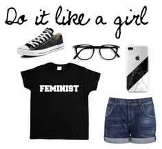 """""""Feminists Rule!"""" by the-shadow371 on Polyvore"""