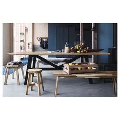 IKEA offers everything from living room furniture to mattresses and bedroom furniture so that you can design your life at home. Check out our furniture and home furnishings! Ikea Dining Room Furniture, Find Furniture, Online Furniture, Ikea Table, Skogsta Ikea, New Kitchen, Kitchen Dining, Kitchen Items, Ikea Deco