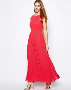 Oasis Chiffon Maxi Dress
