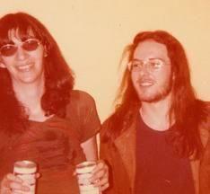 Joey Ramone / Ramones and Jello Biafra / dead kennedys. Mid - late 1970's????