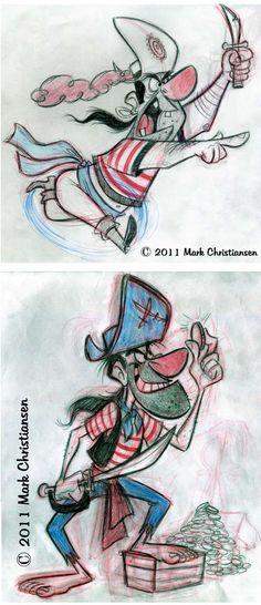 http://theconceptartblog.com/2011/12/09/sketches-memoraveis-de-mark-christiansen/
