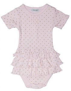 Mini a Ture, Body m. volang, Blushing Pink Bodies - Lekmer.se – 299:-