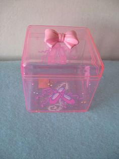 Sanrio Petite Plie Clear Container Tone Ballet Vintage '88, '96 NEW IN BOX