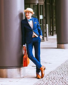 Have you ever walked into a clothing store, spotted something you liked, only to discard it thinking you are too old to look fashionable? Mens Fashion Suits, Mens Suits, Dapper, That Look, Age, Clothes, Style, Dress Suits For Men, Outfits