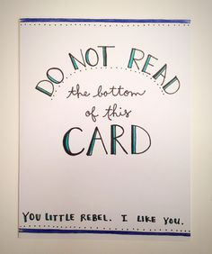 A personal favorite from my Etsy shop https://www.etsy.com/listing/255525165/you-little-rebel-blank-greeting-card