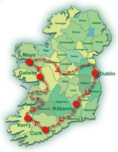 Tour Ireland for 11 Days on our Best of Ireland Self-Drive Tour and see only the very best of the Emerald Isle! Call us today for more on this exciting tour!
