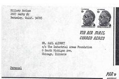 Newly Discovered Letters Between Hillary Clinton & Saul Alinsky (Marxist & Community Organizer)