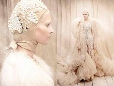Shot by fashion photographer Tina Patni, the I Am The Queen photo series showcases some stunning Amato Haute Couture gowns