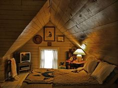 Sensual Cabin Bedrooms | Çatı Katı Yatak Odası Modelleri