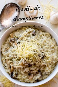 Veggie Recipes, Asian Recipes, Cooking Recipes, Healthy Recipes, Riced Veggies, Good Food, Yummy Food, Risotto Recipes, Fat Foods