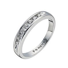 The Forever Diamond 18ct White Gold 35 Point Ring Product Number 1299581