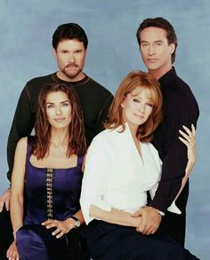 Bo and Hope, John and Marlena Brady Family, Family Day, Peter Reckell, Drake Hogestyn, Kristian Alfonso, Deidre Hall, Tv Couples, Days Of Our Lives, Celebs
