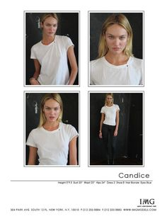Polaroids Candice Swanepoel October 2011