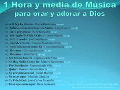 1 Hora y Media de Música Cristiana para Orar y Adorar a Dios