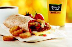 Burger King - Italian Breakfast Burrito