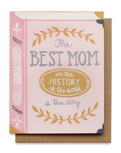 Mignon | the best mom card