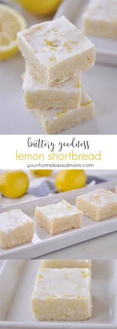Lemon Shortbread Des