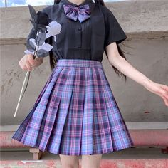 Cosplay Outfits, Edgy Outfits, Korean Outfits, Pretty Outfits, Pretty Dresses, Girl Outfits, Fashion Outfits, Kawaii Fashion, Cute Fashion