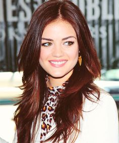 hair variety (★) - Lucy Hale