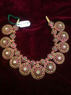 Beautiful Antique Indian Ruby necklace