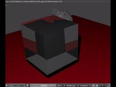 Tutorial Blender 3D 2.5 - Corso di base - 41: oggetti trasparenti con Z-Transp e Raytrace - #Blender #CorsoBlender #LezioniBlender #Materials #Raytrace #Redbaron85 #Transparency #Videotutorial #ZBuffer #ZTransp http://wp.me/p7r4xK-bA