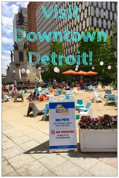 5 Great Reasons to Visit Downtown Detroit! Detroit has made some major changes to its downtown area making it an ideal travel destination especially during the summertime! Take a look!