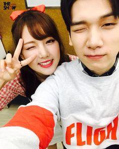 Yerin (gfriend) y Hyuk (VIXX)