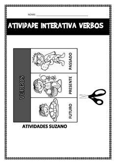 Atividade interativa - Atividades Adriana English Activities, School Projects, Teaching Kids, Language, Classroom, Writing, Learning, Camila, Lp