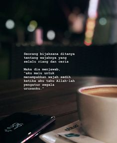 Allah adalah penulis skenario ter the best Reminder Quotes, Self Reminder, Sad Quotes, Daily Quotes, Best Quotes, Motivational Quotes, Life Quotes, Qoutes, Allah Quotes