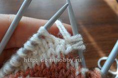 Вязание носков спицами Knitting Socks, Tricot, Sock Knitting, Caps Hats, Dots, Tejidos, Flowers, Knit Socks