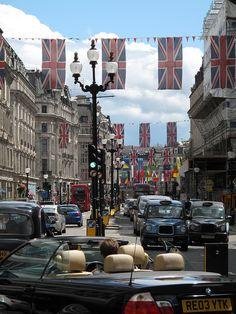 Regent Street London by nick.garrod, via Flickr