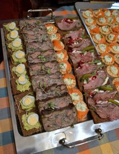 Roast Beef, Mozzarella, Asparagus, Catering, Prosciutto, Sausage, Deserts, Food And Drink, Appetizers