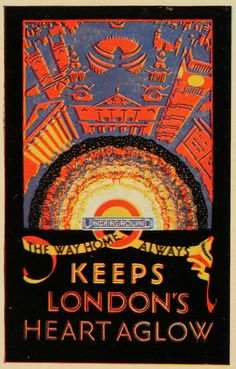 London Underground poster-- vintage looks good on this city! Posters Uk, Railway Posters, Vintage Typography, Typography Poster, London Underground Tube, Retro Poster, Poster Vintage, Museum Poster, London Poster