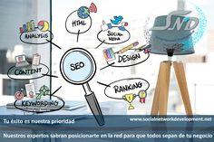 Integramos una estrategia única a tu negocio. #RedesSociales  #SND  #WEB  #SEO