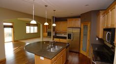 Love this Kitchen?? Has an amazing Center Island... very unique
