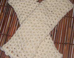 Crochet Victorian Style  Fingerless Arm Warmers    (Pdf Crochet  Pattern Only)