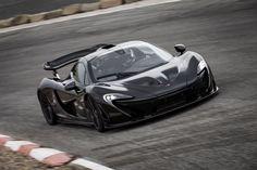 La production de la McLaren P1 est lancée
