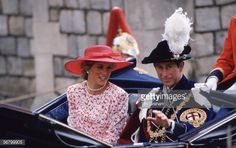 News Photo : The Prince and Princess of Wales taking part in...