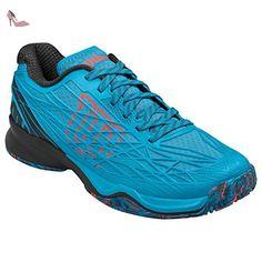 Wilson Wrs322380e110, Chaussures de Tennis Homme, Bleu (Hawaiian Ocean / Black / Fiery Coral), 46 EU - Chaussures wilson (*Partner-Link)