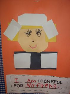 Mrs. Wood's Kindergarten Class: I am Thankful