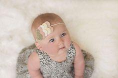 Heart headband baby toddler girls headband by muffintopsandtutus