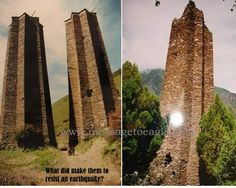 What was the purpose of building these strange Tibetan towers? They are commonly referred to as Tibetan or Qiang Towers, after the Qiang ethnic group...