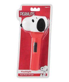 Look at this #zulilyfind! Peanuts Snoopy Flashlight #zulilyfinds