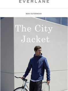 The City Jacket Is Here - Everlane