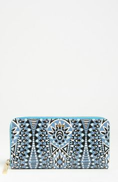 Emilio Pucci Micro Mykonos - Large Zip Around Wallet available at #Nordstrom