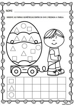 1st Grade Math, Kindergarten Math, Easter Crafts, Kids Crafts, Emotions Preschool, Easter Breaks, Easter Activities For Kids, Classroom Projects, School Worksheets