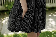 DIY: How To Add In Seam Pockets to a Dress by A Common Thread