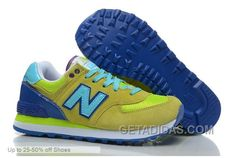 http://www.getadidas.com/new-balance-casual-shoes-women-574-yellow-blue-discount.html NEW BALANCE CASUAL SHOES WOMEN 574 YELLOW BLUE DISCOUNT Only $72.00 , Free Shipping!